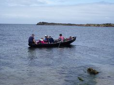 Transferring to the island The Past, Boat, Island, Landscape, History, Dinghy, Scenery, Historia, Boats