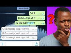 Comment lire un message supprimé sur whatsapp, facile - YouTube