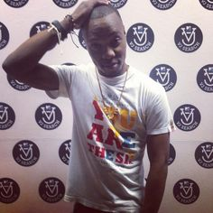 The winner of the MTV Base VJ Search and our new VJ, The Sandman, Sandile! Mtv, Base, Search, Mens Tops, T Shirt, Research, Tee Shirt, Searching, Tee