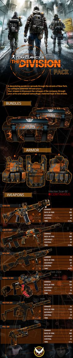 The Division Pack Ghost Recon Phantoms by blackbeast on DeviantArt