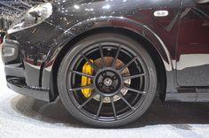 'Abarth Punto Scorpione' alloy wheels