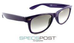 Coachella Purple Geek Style Sunglasses - Purple ray ban style sunglasses