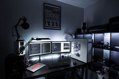Fap Cave: Desk - Lights Off | Flickr - Photo Sharing!