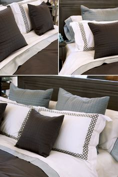 Sky and Steel | Au Lit Fine Linens