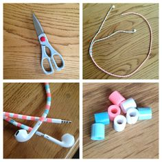 Trick out your headphones;  What you'll need: -sharp scissors  -lots of Perler beads (colors of your choice you may half to sort the color's you like)  - head phones  Directions- you half to cut all the perler beads and Open them up and put them on the wire of the head phones. It takes A long time but it totally worth it!