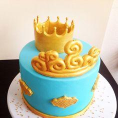 Kral ve kraliçe temalı pastamız