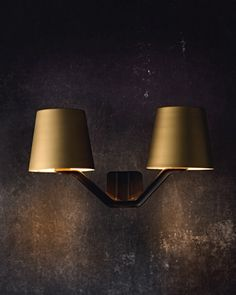 Home I Interior I Furniture I Wandleuchte I Messing I Base Wall Lighting by Tom Dixon