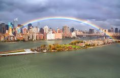 A rainbow over today's NYC sky that offered a glimpse of hope after Hurricane Sandy (isardasorenson.wordpress.com)