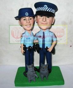 police couple wedding cake toppers 1000 images about mini me custom cake toppers on 18669