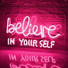 Pink Neon Lights, Pink Neon Sign, Neon Light Signs, Pink Tumblr Aesthetic, Neon Aesthetic, Aesthetic Space, Aesthetic Images, Neon Quotes, Pink Quotes