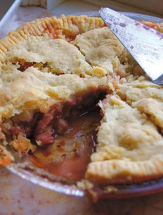 Best Rhubarb Pie... No exaggeration!