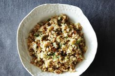 Quinoa and Farro Salad with Pickled Fennel: http://food52.com/blog/10668-quinoa-and-farro-salad-with-pickled-fennel #Food52