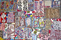 Jean Dubuffet, La ronde des images, 1977