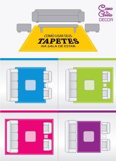 Qual o tamanho correto? Quais são as regras p/ usar tapetes? E os materiais? Limpeza? Confira esse post e tire essas dúvidas e dentre outras.