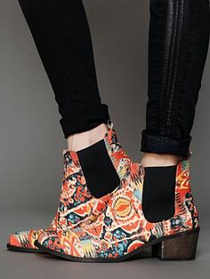 Cocnuts Illusion Ankle Boot @Free People $228