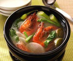 Filipino Foods And Recipes - Pinoy foods at its finest.: Sinigang Na Hipon Filipino Recipe