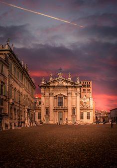 Duomo of Mantova . Italy