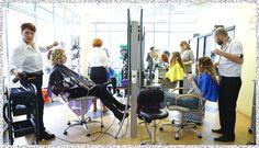 Гордость нашего Салона красоты - парикмахерский зал.