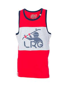 LRG+Color+block+tank+top+Screen+print+LRG+logo+graphic+on+front