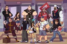 Welcome to WWE High! | WWE.com Class Photo. This makes more sense than I want it to.