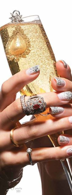 Champagne and diamonds