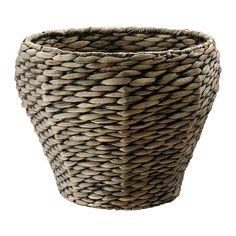 DRUVFLÄDER Cache-pot IKEA Fait main par un artisan qualifié. Un pot intérieur en plastique rend ce pot imperméable.