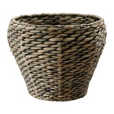 IKEA - DRUVFLÄDER, Plant pot, Handmade by a skilled craftsman.A plastic inner pot makes the plant pot waterproof.