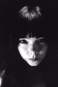 Bjork by Nobuyoshi Araki, 1996 Black And White Portraits, Black And White Photography, Photo Grand Format, Bjork, Foto Art, Famous Faces, Belle Photo, Contemporary Artists, Human Body