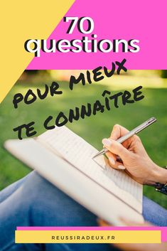 70 questions to get to know each other Self Development, Personal Development, Intro To Psychology, Stress, Miracle Morning, Burn Out, Motivation, Positive Attitude, Positive Mind