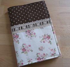 Fabric Notebook Cover Fabric Journal Handmade by ScottStudioDesign, $23.00