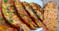Bramborové placičky, které můžete jíst i po 22h a nepřiberete! Tenhle recept strčí do kapsy všechny bramboráky - Quick Dinner For Kids, Dinners For Kids, Kids Pizza, Meatloaf, Banana Bread, Zucchini, Sausage, Cookies, Vegetables