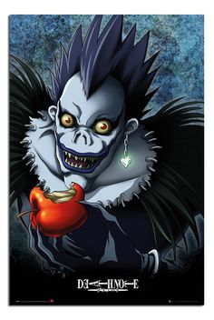 Death Note Clown Apple Poster