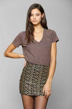 DV By Dolce Vita Hilla Sequin Skirt