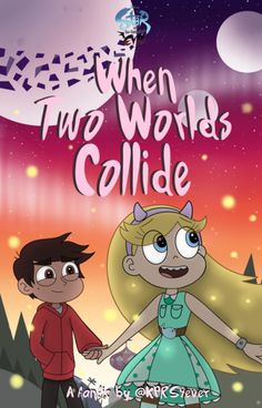 I redid the cover art for my fanfic, Star Vs. The Forces Of Evil: When Two Worlds Collide! If you haven't read it yet, the links for it are down below! It's basically a season There are 8 chapters posted so far and SO MANY more to come so I hope. Star E Marco, Starco Comic, Cute Couple Art, Star Wars, Star Butterfly, Love Stars, Second World, Force Of Evil, Disney Art