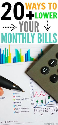Lower your monthly bills. Save money. Money saving tips. 20+ ways to drastically lower your monthly bills. Ways to lower my bills. Don't overpay on your bills. Finance tips. Track your spending. Financial freedom. Retire by 40. #loweryourbills #financialfreedom #savemoney #frugal #thrifty #finance #savings #retireby40
