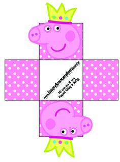 Forminhas Docinhos Peppa Pig: