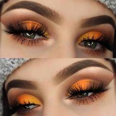 Summer Eyeshadow Looks Fall Eyeshadow Looks, Fall Eye Makeup, Summer Eyeshadow, Fall Makeup Looks, Eye Makeup Art, Skin Makeup, Eyeshadow Makeup, Makeup Inspo, Beauty Makeup