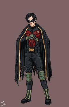 Jason Todd (Batman: Death of Robin) commission by phil-cho on DeviantArt - NEYLANBU Jason Todd Robin, Robin Tim Drake, Robin Dc, Jason Todd Batman, Batman Robin, Dc Comics Superheroes, Dc Comics Characters, Dc Comics Art, Batman Comics