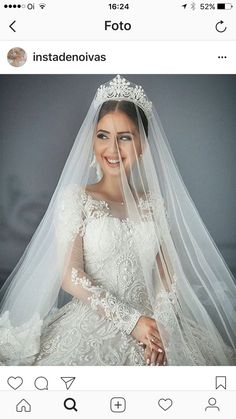 Exquisite details 😍 Which one of these bridal styles do you prefer, 4 or . Photo by Dress from Photo by Makeup by Hairstyle by Dress and Veil by Photo by Dress from Dress by Makeup by Photo by Photo by Miss To Mrs Bridal Box Subscription <- Learn m Bridal Veils And Headpieces, Wedding Veils, Wedding Bride, Dream Wedding, Princess Wedding, Party Wedding, Perfect Wedding, Beautiful Bride, Beautiful Dresses