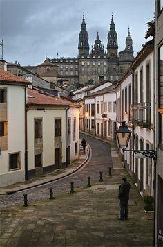 En pleno corazón de la ciudad, nos encontramos con un auténtico tesoro urbanístico, se trata de la Rúa das Hortas, donde los vecinos tienen la suerte de poder disfrutar de su propio espacio verde.