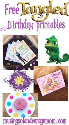 35 Popular ideas for disney birthday party printables Tangled Party Decorations, Princess Birthday Party Decorations, Disney Princess Birthday Party, Birthday Party Centerpieces, Tinkerbell Party, 4th Birthday Parties, Birthday Ideas, 5th Birthday, Quinceanera Decorations