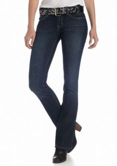 YMI  Belted Bootcut Jean