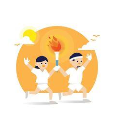 3•1절 기념 2005년 인천 아시안 게임 성화봉송