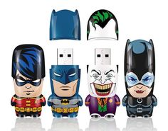 Batman USB Flash Drives! Cute!
