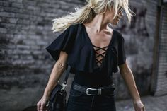 ALL IMAGES JOHN HILLIN CRISS CROSS TOP | JUMPER | DENIM | BOOTS – ALL ℅ MISSGUIDED | BELT VIA MODA NASHVILLE | BAG PROENZA SCHOULER PSII   Yesterday downtown twirling in butterfly sleeve…