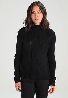 Köp  Noisy May Petite NMWILBA  - Stickad tröja - black för 299,00 kr (2017-11-07) fraktfritt på Zalando.se