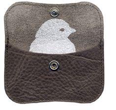 Mini portemonnee grey brown - Keecie - BijzonderMOOI* - Dutch design