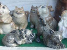 Figürchen im Andenkenladen, Königswinter - Foto: S. Hopp