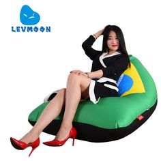 Cheap bean bag, Buy Quality beanbag sofa directly from China bean bag bed Suppliers: LEVMOON Beanbag Sofa Chair Brazil Flag Seat Zac Bean Bag Bed Cover Without Filling Indoor Beanbags Bean Bag Bed, Brazil Flag, Living Room Sofa, Sofa Chair, Bed Covers, Jeans, Home Furniture, Bedding, Chairs