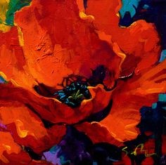 Desire artist Simon Bull Acrylic on canvas. Abstract Flowers, Watercolor Flowers, Poppies Painting, Acrylic Art, Painting Inspiration, Flower Art, Amazing Art, Art Drawings, Art Projects